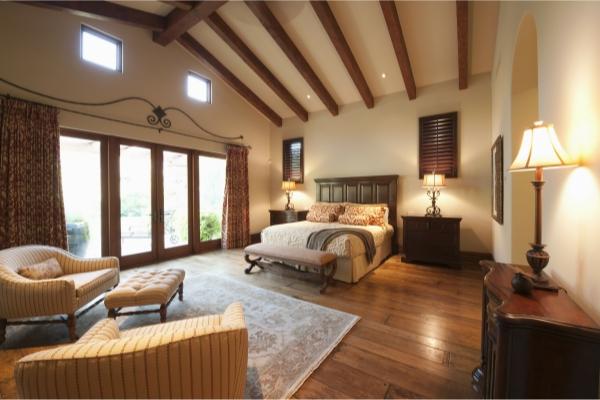 חדר שינה נקי