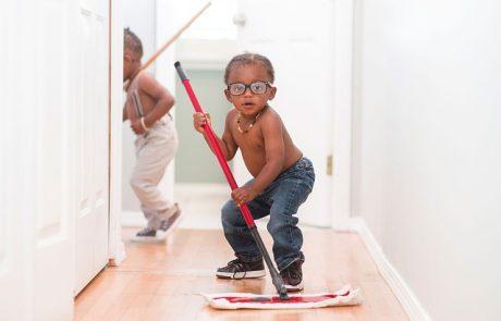 איך לנקות חדר ילדים